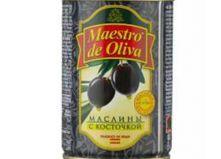 """Маслины с косточкой """"Maestro de Oliva"""" (280 г)"""