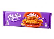 Шоколад Milka с арахисом и карамелью 300г