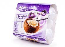 Шоколадные яйца Milka (Милка) Snow Balls с нежным кремом