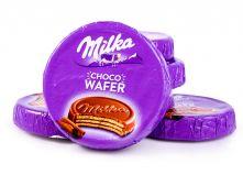Вафли Milka Choco Wafer в молочном шоколаде с начинкой какао 30г