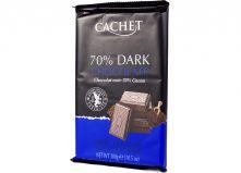 Шоколад CACHET черный 70% какао  300 г