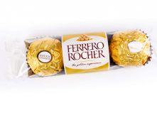 Конфеты Ferrero Rocher / Ферреро Роше 3шт., 37,5 г