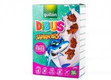 Печенье бисквитное Gullon Dibus Sharkies без глютена , 250 гр
