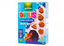 Печенье бисквитное Gullon Dibus mini cereais Angry Birds , 250 гр