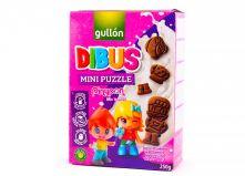 Печенье бисквитное Gullon Dibus mini puzzle , 250 гр