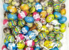 Шоколадные конфеты пралине яйца  Assortiti Laica , 1000 гр