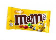 Драже M&M's с арахисом и молочным шоколадом 45г