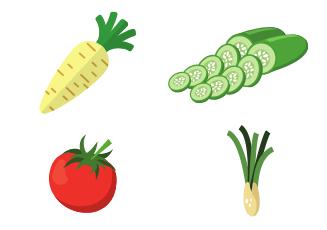 Тосты с овощами