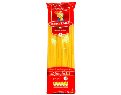 Макароны Pasta Zara Спагетти №3 500 г