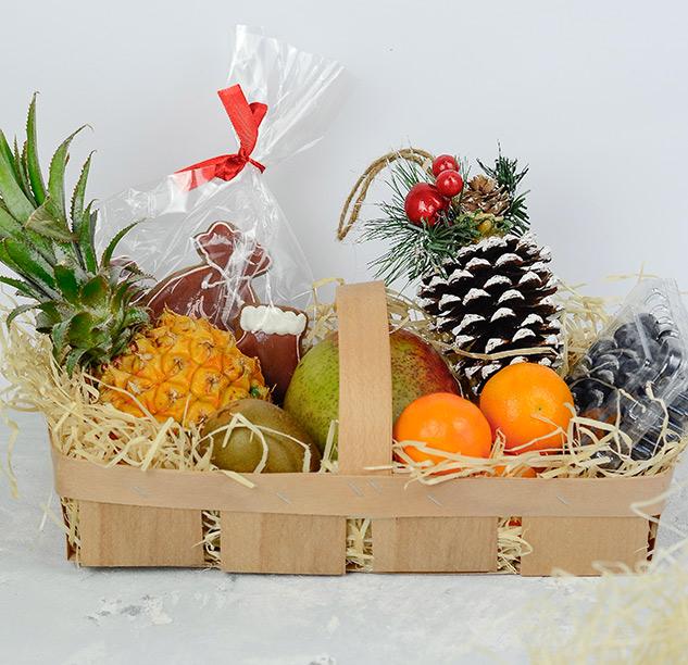 Подарочная корзинка ко дню Святого Николая | OtValentiny