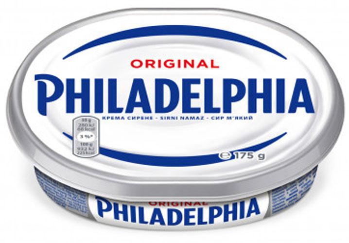 Сливочный сыр Филадельфия 175 гр