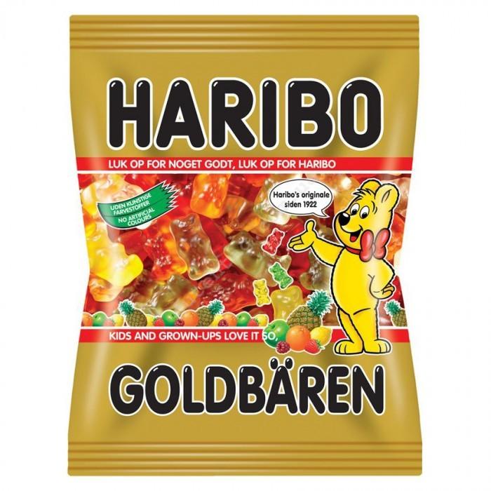 Жевательные конфеты Haribo Goldbaren 1кг