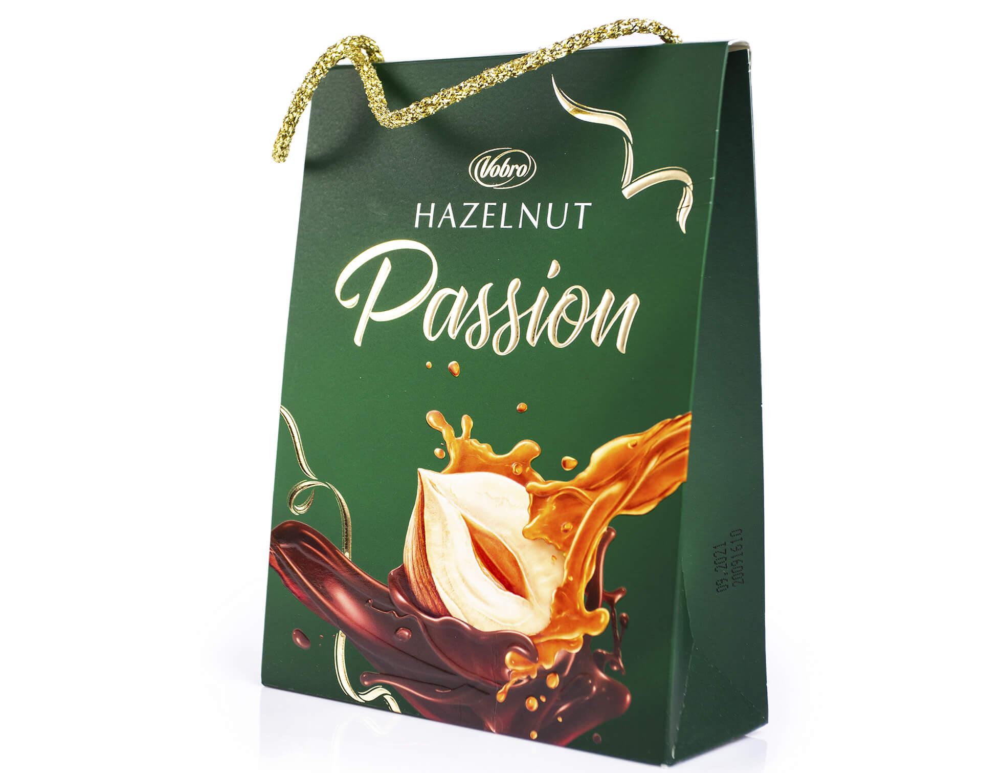 Конфеты  Vobro Hazelnut Passion 182 г