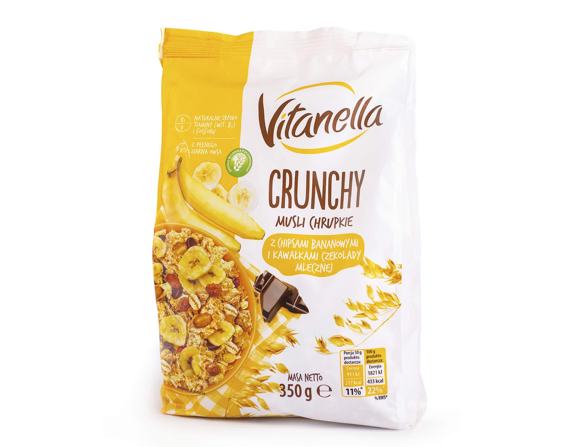 Мюсли Vitanella Crunchy i Musli 350г