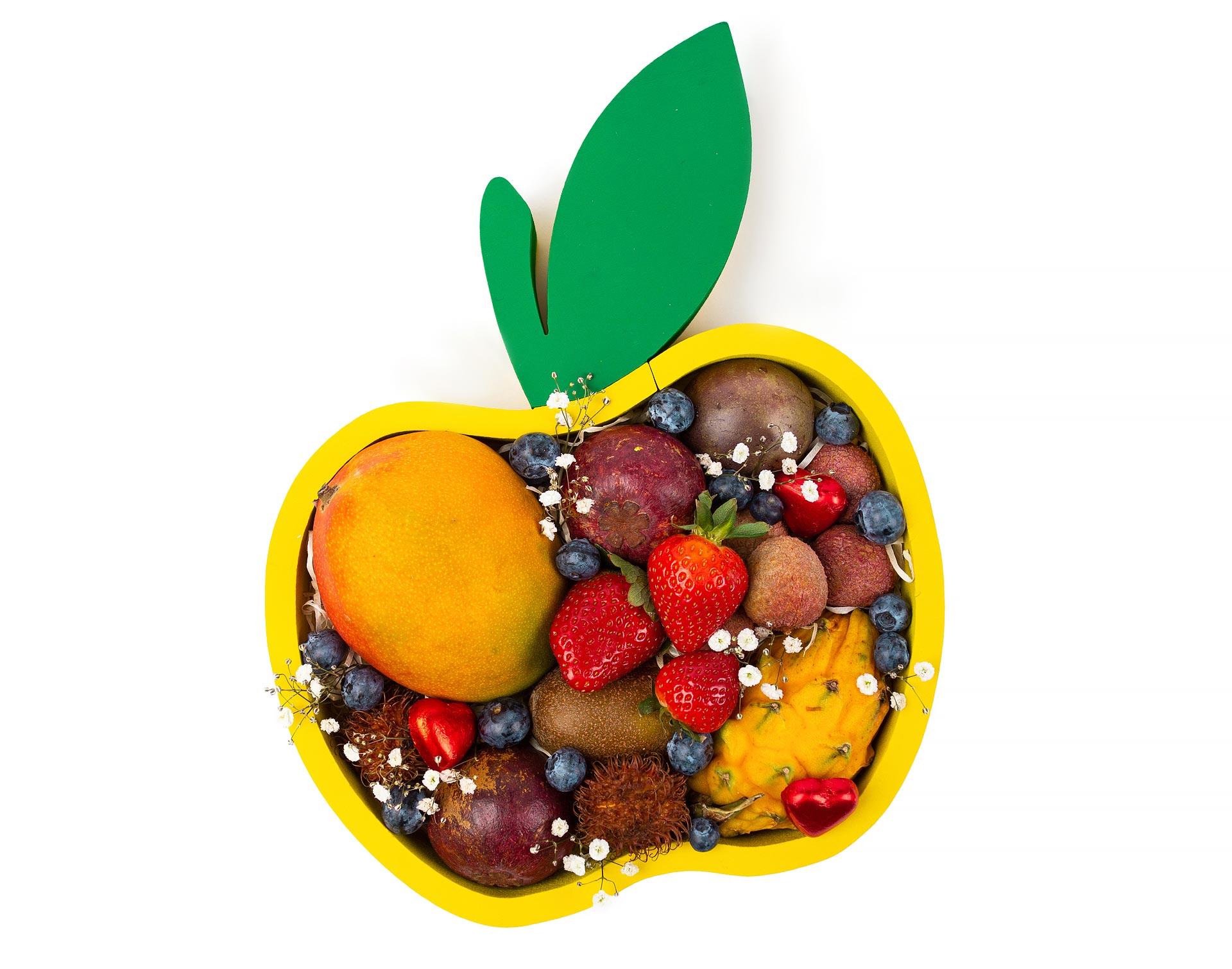 Экзотическое яблоко | Фруктовая корзина | Лучший подарок к 8 марта