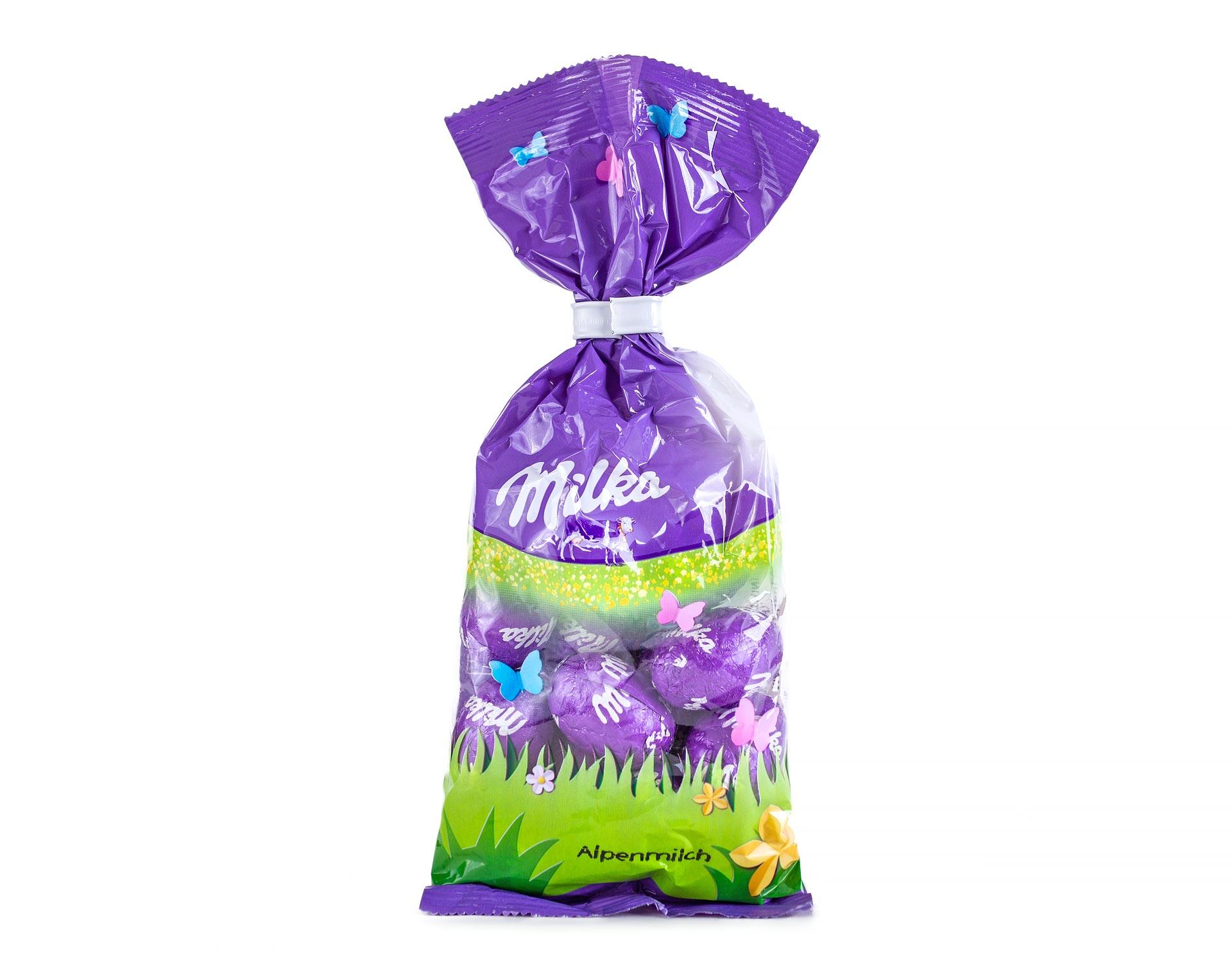 Шоколадные яйца Milka Alpenmilch Eggs 100 g