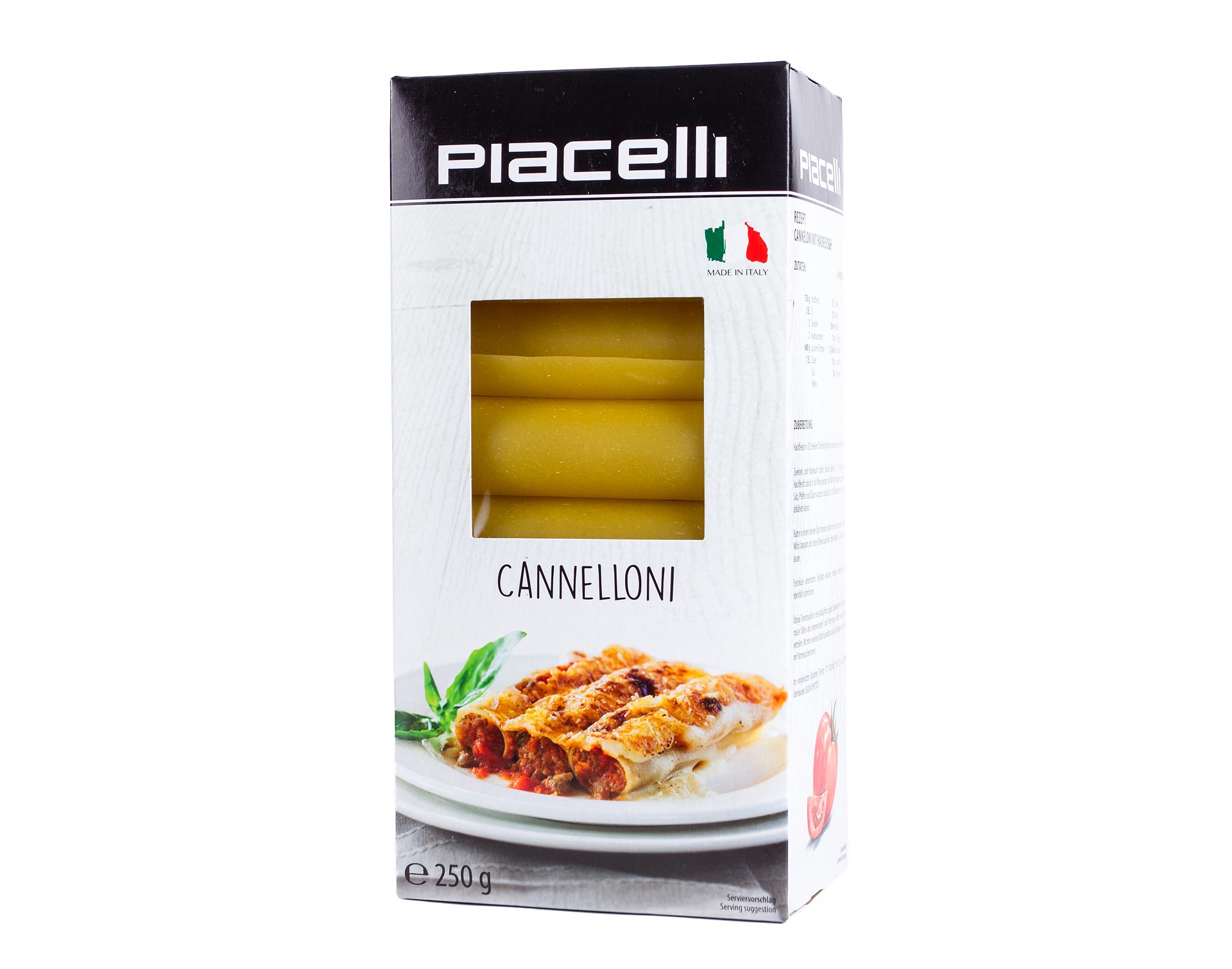 Паста Piacelli Каннеллони 250г