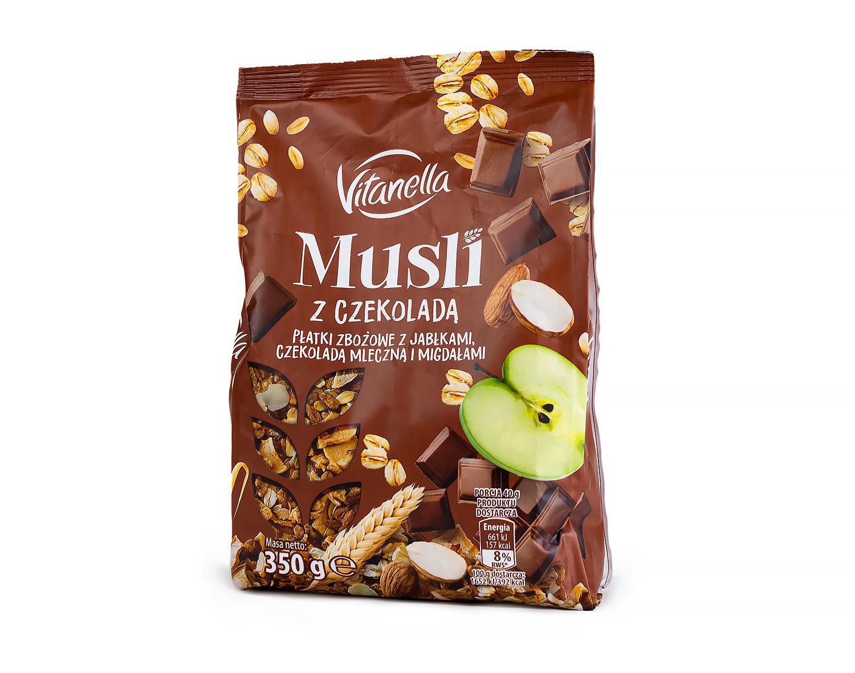Мюсли с шоколадом Vitanella 350 г
