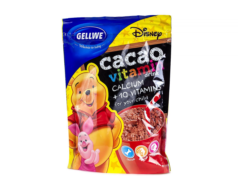 Детское какао с витаминами Gellwe Disney 150гр